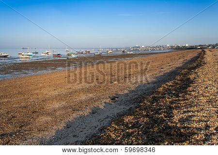Southend beach Essex UK