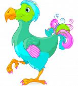 stock photo of dodo  - Illustration of cute Dodo bird - JPG