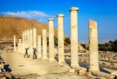 Ancient city of Beit She'an in Israel