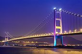 pic of hong kong bridge  - Hong Kong bridge - JPG