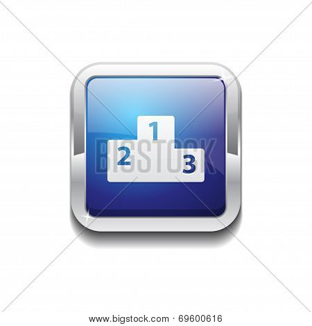 Score Board Rounded Corner Vector Blue Web Icon Button