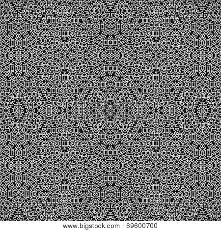 geometrical structure 365 seamless pattern