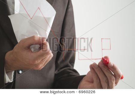 Gráfico de negativo