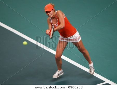 Alize Cornet (fra) At Open Gdf Suez 2010