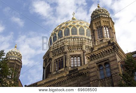 The Neue Synagoge (new Synagogue)