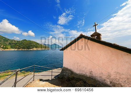 Church In Bonassola - Liguria - Italy