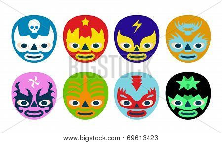 Wrestlers Masks