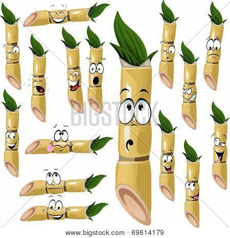 Sugarcane Cartoon