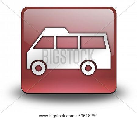 Icon, Button, Pictogram Van