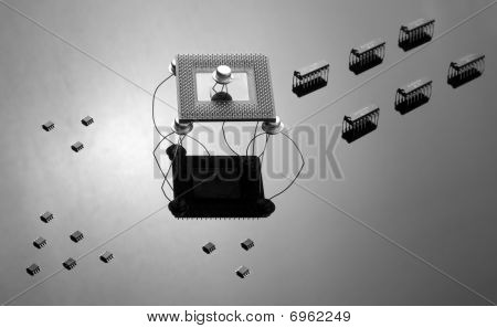 Army Of Chips And Semiconductors