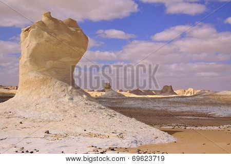 Chalk Formation In White Desert, Farafra, Egypt