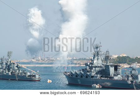 Day Military Marine Sea Fleet Of Russia