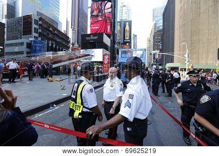 Times Square Alliance security personnel