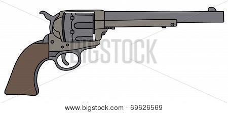 Old american handgun