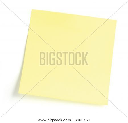 Blank Yellow To-do List
