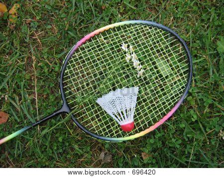 Badminton Racket With Shuttlecock