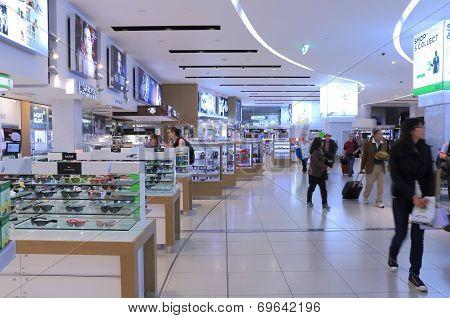 Melbourne Airport Duty free shop