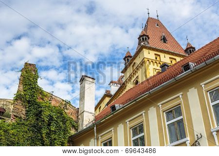 Medieval Architecture Building, Sighisoara, Romania