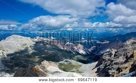 The Fanes Plan, Alto Adige, Dolomiti.
