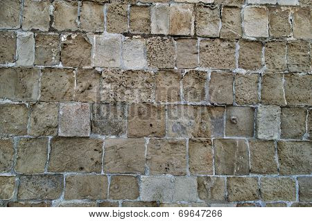 Texture of rough stonework