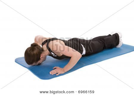 Nose To Mat Push Up