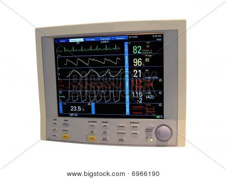 Cardiovascular Monitor, pantalla Digital de diagnóstica, Doppler a color