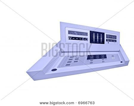 New Digital Control Panel, Diet Medicine Test, Isolated