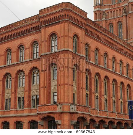 Old Town Hall in Berlin. Lower floors part.