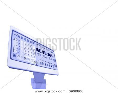 New Digital Control Panel, Anatomy Patient Test, Isolated
