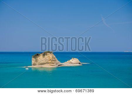 Sidari Canal d'amour Corfu island Greece