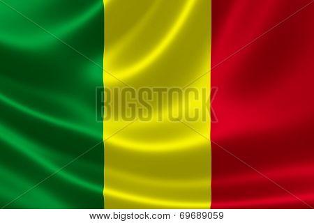 Republic Of Mali's National Flag