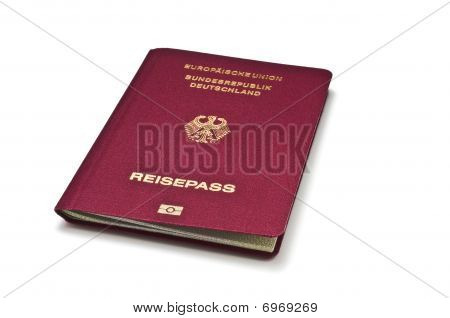 German Passport White