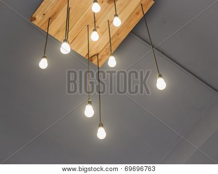 Beautiful Vintage Light Hanging From Ceiling