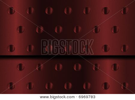 Red Metal Background