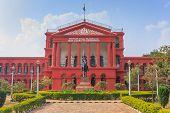 stock photo of karnataka  - High Court of Karnataka at Bangalore India - JPG