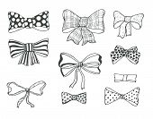 foto of bowing  - Set of bows - JPG
