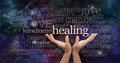 stock photo of reiki  - Healer - JPG