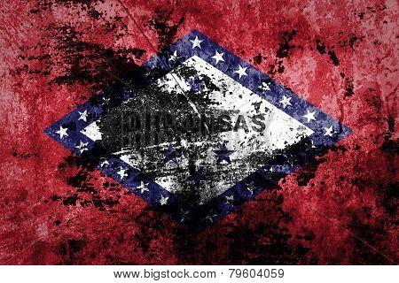 Grunge flag .