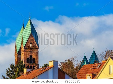 Redeemer Church in Bad Homburg, Germany