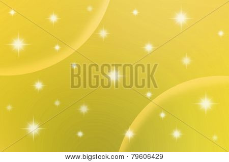 Abstract Color Background With Star