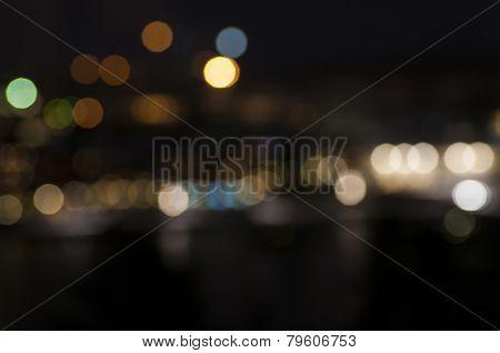 Defocused Night Lights