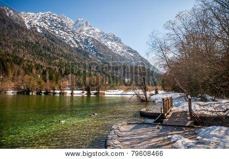 Jasna lake, Kranjska gora, Slovenia