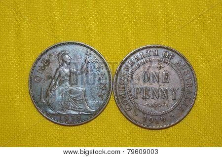 Penny & Half Penny.