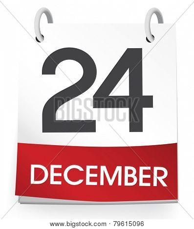 December 24th Vector