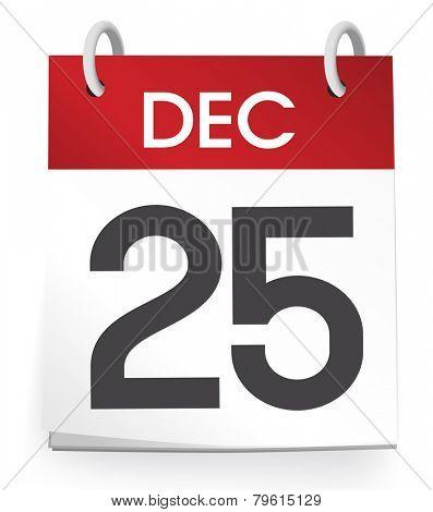 25th of December Vector