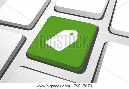 Computer Key : Tag Vector
