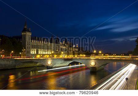 Evening Paris, France, Europe