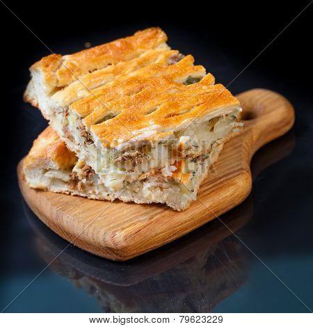 Homemade fish pie