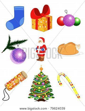 Christmas Items Set