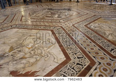 Marble Floor of Siena Cathedral